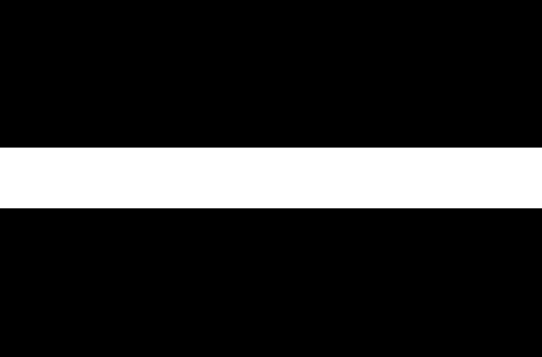 rush university logo white