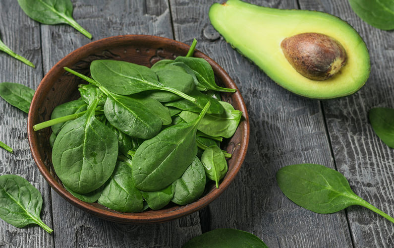 Hidden Spinach Healthy Guacamole Recipe