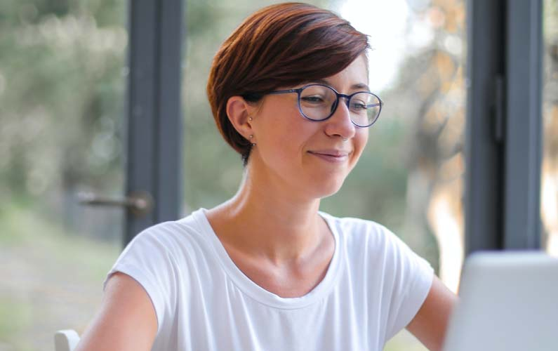 woman happy after trying detox and elimination diet program