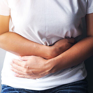 women with tummy issue due to feed intolerances