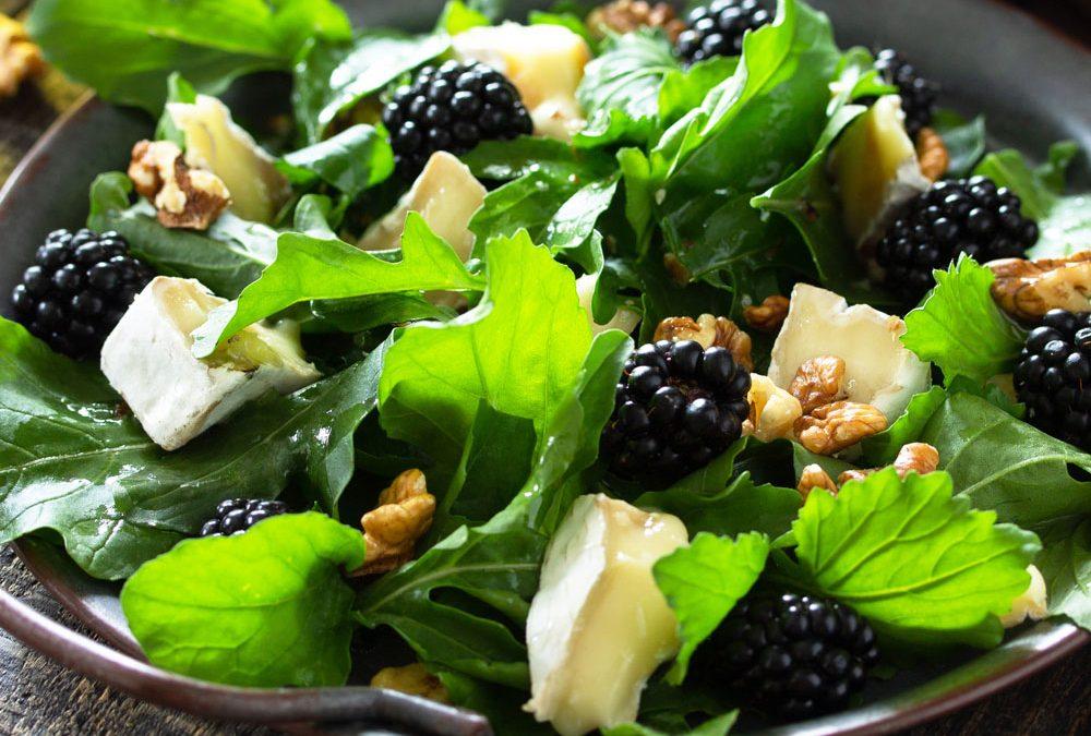 Recipe: Baby Greens with Blackberry Vinaigrette