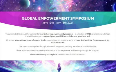 FREE Global Empowerment Symposium- June 19th – July 18th 2021