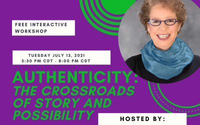 FREE Interactive Experiential Workshop –  Tuesday July 13th 5:30-8 PM CDT